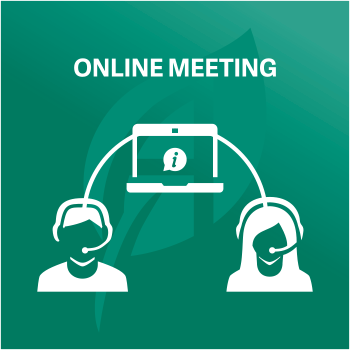Click to start an Online Meeting
