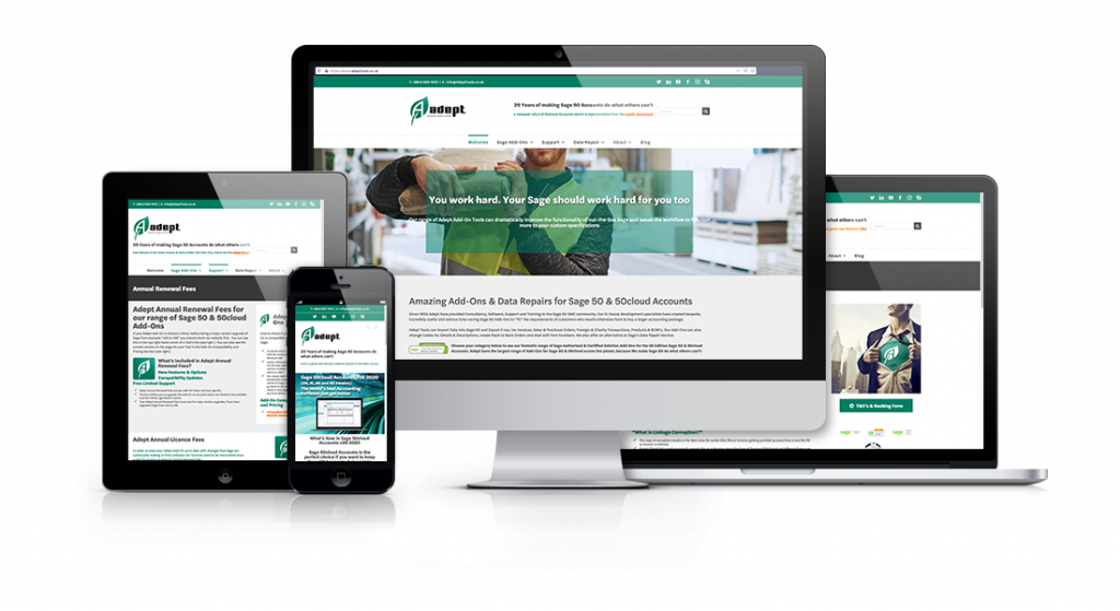 Sage 50cloud Accounts and Adept Tools, a Perfect Combination